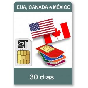 EUA CANADA  30 dias
